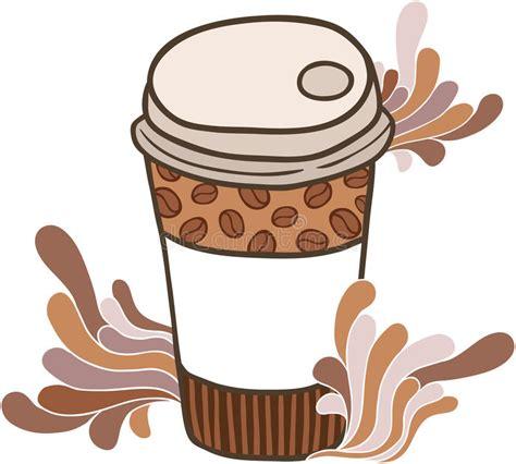 1000 x 1000 jpeg 197 кб. Cute Cartoon Doodle Coffee Cup Stock Vector - Illustration of artwork, morning: 34005812