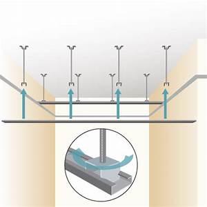 Pose D Un Faux Plafond En Ba13 : poser un faux plafond en lambris plafond ~ Melissatoandfro.com Idées de Décoration