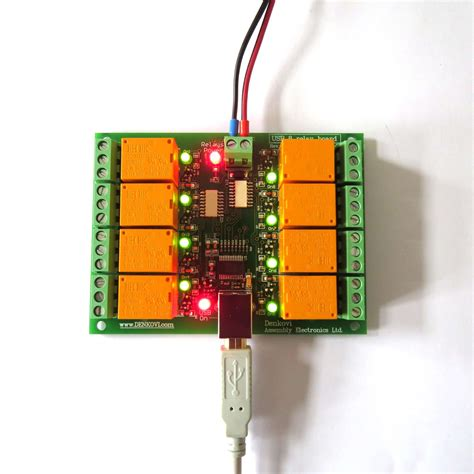 Usb Eight Channel Relay Board Jqc For Automation