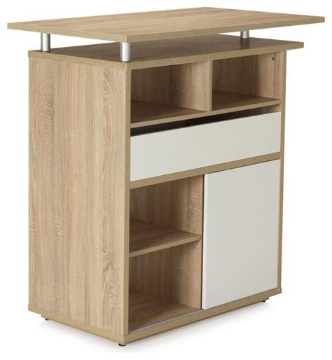 bar cuisine meuble meuble bar separation cuisine maison design bahbe com