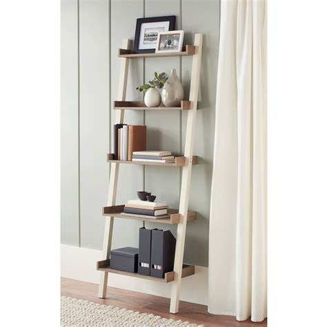 Leaning Desk Bookcase by Better Homes And Gardens Bedford Leaning Desk And 2 5