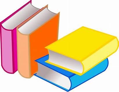 Reading Clipart Clip Books Books2 Library Vector