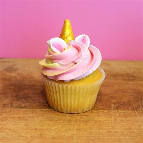 wedding cake unicorn cupcake