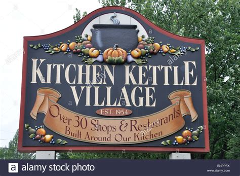 country kitchen kettle kitchen kettle sign a tourist shopping center in 2826