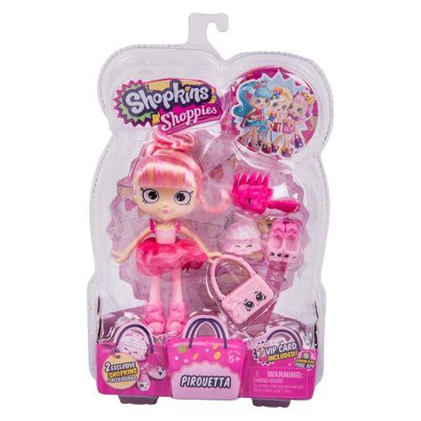 shopkins shoppies doll pirouetta shopkins dolls  toy