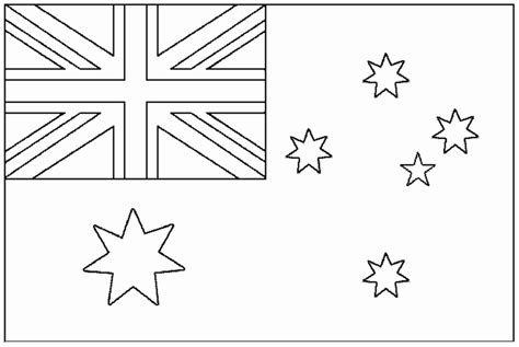 australia flag colors flag australia flags coloring pages for to print