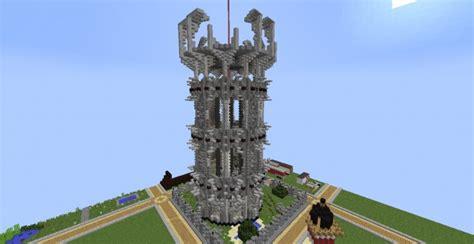 fancy tower build event   winner minecraft