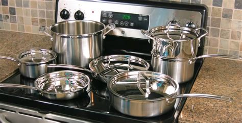 cookware stove glass stoves range electric stainless steel gas smooth oven cuisinart multiclad 12n mcp pans pots sets ranges most