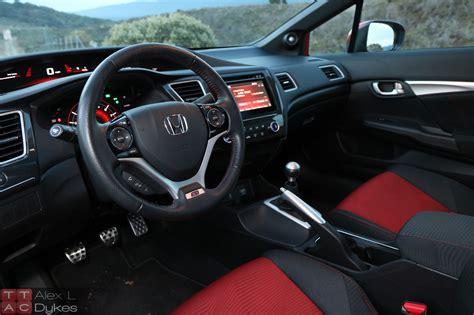 2015 Honda Civic Si Sedan Interior-004