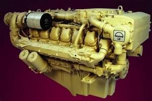 Man Marine Diesel Engine D2840 Le301  D2842 Le301 Series
