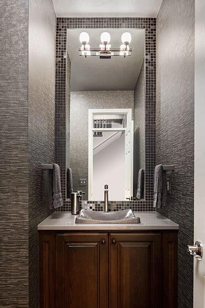 powder room interior design  kansas city design