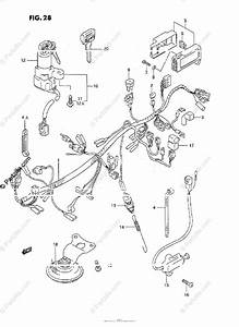 Suzuki Motorcycle 1988 Oem Parts Diagram For Wiring