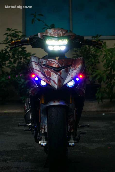 Pakai Batok King by Modifikasi Yamaha Jupiter Mx King 150 Pakai Headl Led