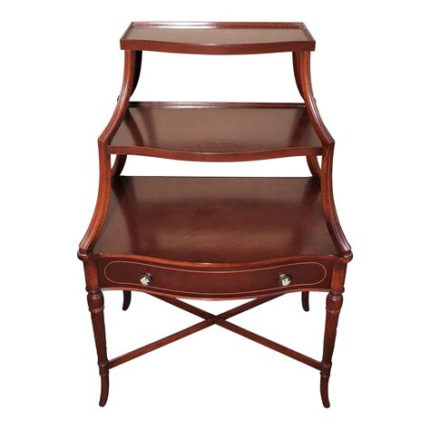 Mahogany Etagere by Mahogany Three Tiered Etagere Design Plus Gallery