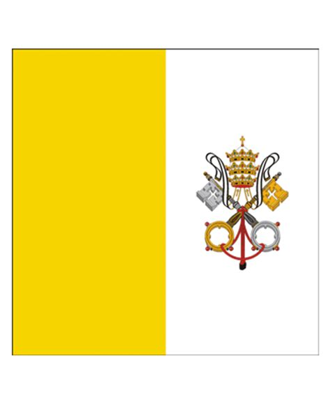 Vatican City Flag Coloring Pages For Kids To Color And Print