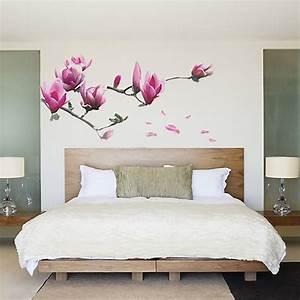 Magnolia Flowers Removable Wall Sticker Decals Mural Art Home Room Decor Vinyl eBay