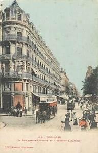 Rue Lafayette Toulouse : cpa france 31 toulouse la rue alsace lorraine au carrefour lafayette ed labouche 31 ~ Medecine-chirurgie-esthetiques.com Avis de Voitures