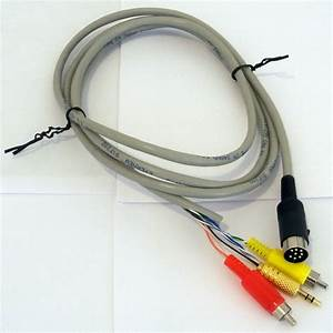 Diy 8 Pin Din Cable For Bose Acoustimass Am9p  U0026 Lifestyle 12 25 3  5 8 Cs6