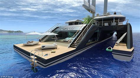 komorebi hybrid superyacht    swimming pool