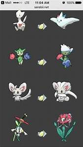 Which Pokemon evolve with Shiny Stones