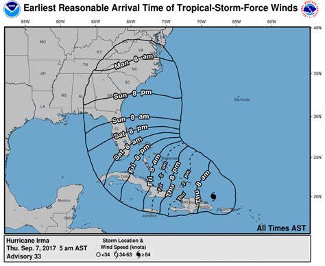 hurricane irma path map   hurricane irma heading