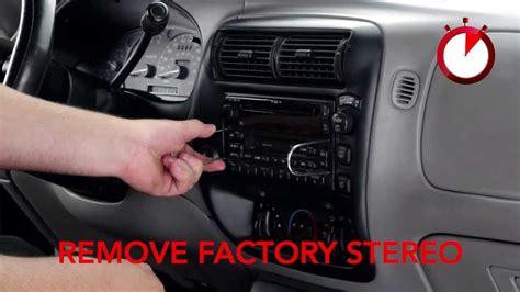 full stereo installation   ford explorer  scosche