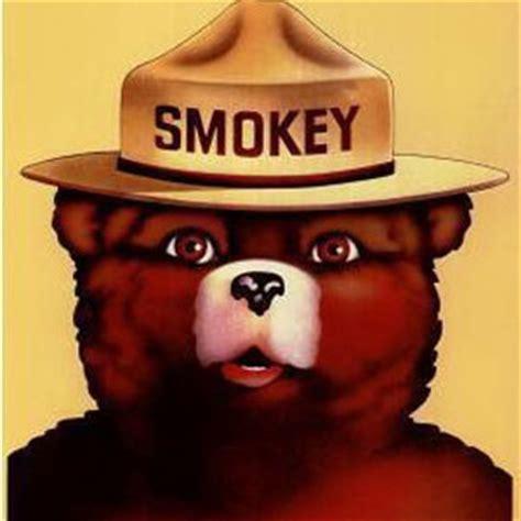 smokey bear visits  daily show  discuss