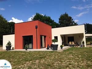 Façade Maison Moderne : maison moderne bi couleur ~ Melissatoandfro.com Idées de Décoration