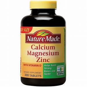 Nature Made Calcium - Magnesium Zinc With Vitamin D3