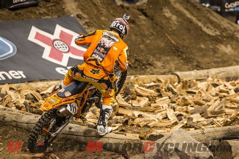 ktms blazusiak takes gold  la  games enduro  video