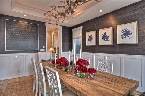 Grasscloth Dining Room Photos 2017