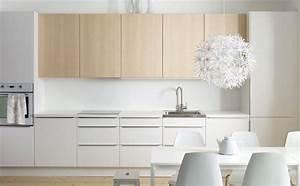 Ikea Cuisine Blanche : cuisine ikea bicolore blanc en bas bois en haut sophie cuisine pinterest cuisine ~ Melissatoandfro.com Idées de Décoration