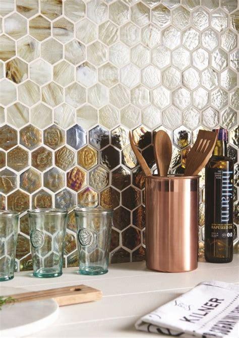 Iridescent Tiles Backsplash Uk by Genau Top And Voni Bottom Iridescent Glass Mosaic