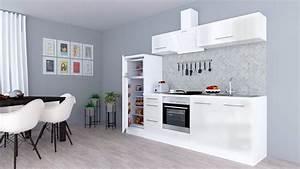 Küchenzeile 240 Cm Mit E Geräten : respekta k chenzeile mit e ger ten rp270 breite 270 cm online kaufen otto ~ Watch28wear.com Haus und Dekorationen