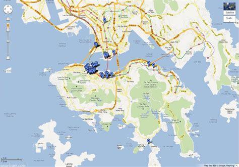 hong kong bars restaurants google location map asia