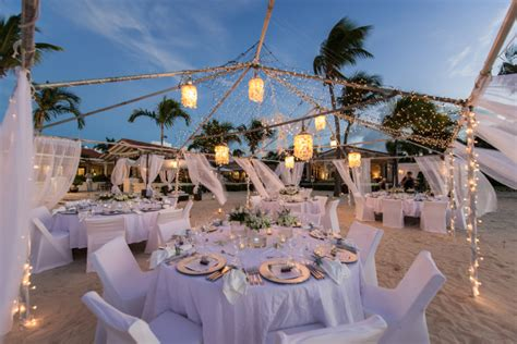 heavenly unions white beach wedding decor