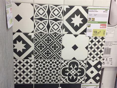 carrelage cuisine blanc et noir carrelage imitation carreaux de ciment leroy merlin avec