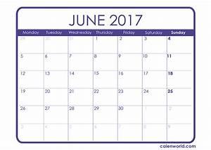 June 2017 Calendar | Printable Calendars