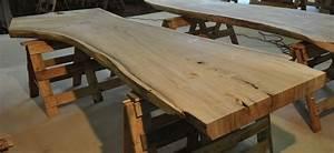 Massiv Holz Baumstamm Tisch 100010 2