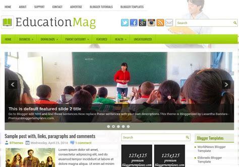 educationmag blogger template blogspot templates