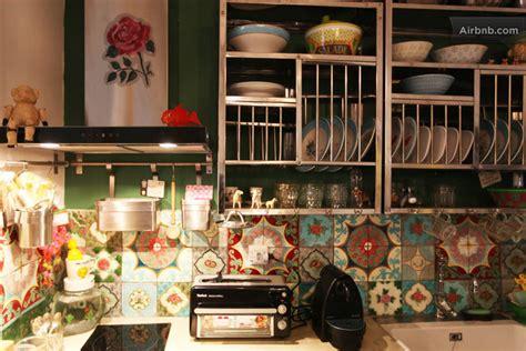 Transformer Garage En Cuisine - deco salon hippie chic