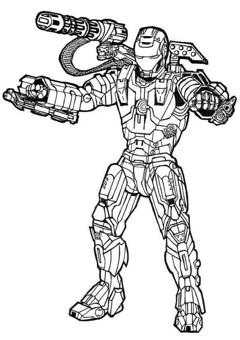 avengers endgame free coloring pages