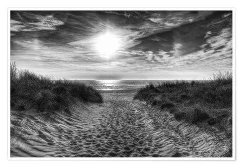 posters  tableaux de coucher de soleil en noir  blanc