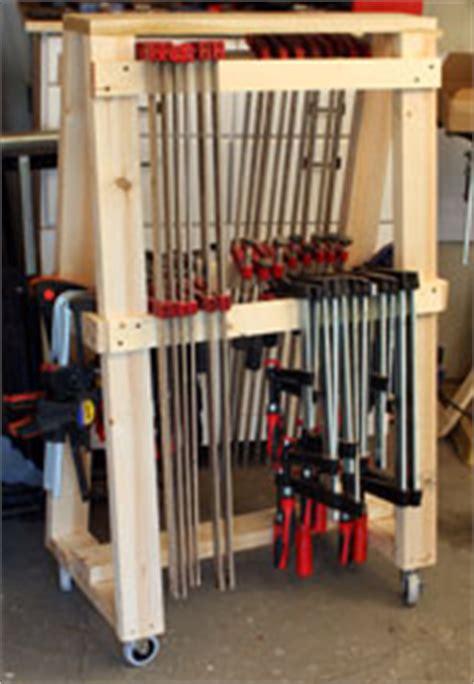 building  newwoodworkercom mobil clamp rack
