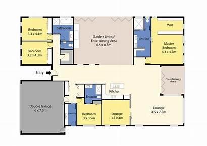 Floor Plan Plans Block 2d Colour Estate