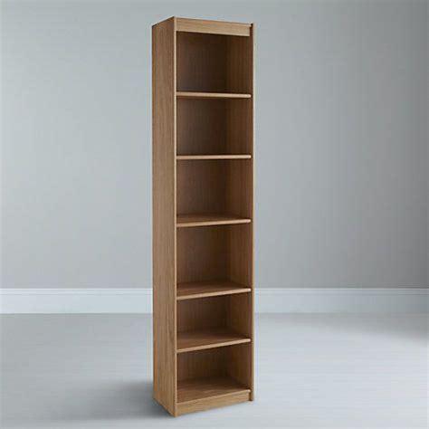 Buy Narrow Bookcase by Buy Lewis Agatha Narrow Bookcase Oak At