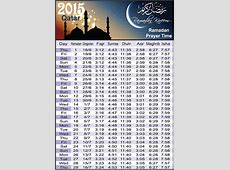 2015 Ramadan Prayer Schedule New Calendar Template Site
