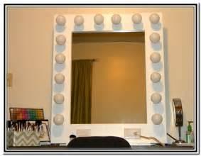 Vanity Makeup Mirror With Light Bulbs Home Design Ideas