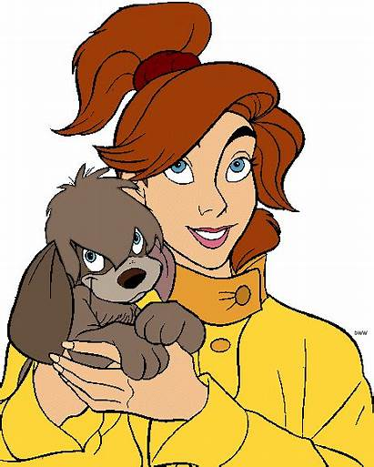 Anastasia Clipart Cartoon Pooka Disney Clip Anya
