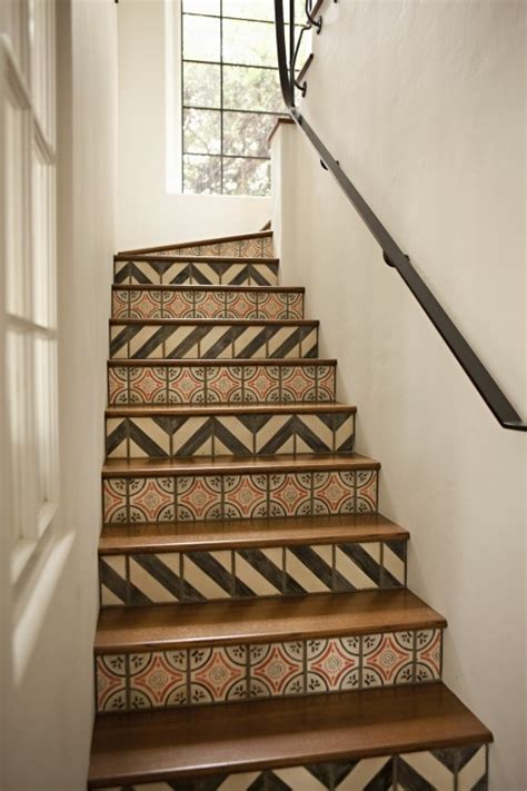 17 best ideas about tile on stairs on redo